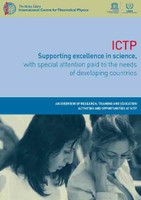 ICTP flyer 2009 - cover